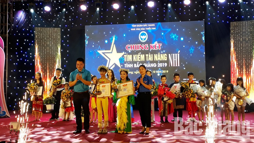 Nguyen Tam Anh, Do Phuong Ngan, Bac Giang city, Bac Giang province, Got Talents for Kids 2019, Bac Giang province, most excellent finalists, outstanding performance