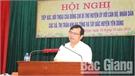 Bí thư Huyện ủy tiếp xúc, đối thoại với cán bộ, nhân dân các xã, thị trấn khu Ba Tổng và Tây Bắc