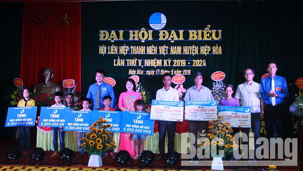 Bắc Giang, Hội Liên hiệp Thanh niên tỉnh Bắc Giang, Vũ Chí Công, thanh niên huyện Hiệp Hòa