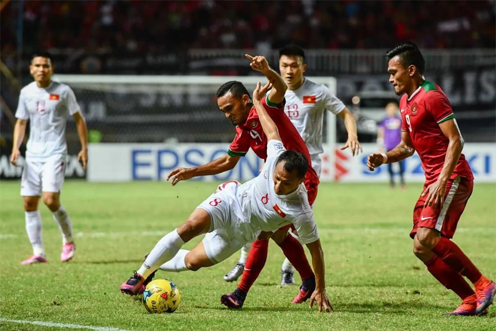 cuộc đối đầu, gần nhất, Indonesia, Việt Nam, World Cup 2022, vòng loại World Cup 2022