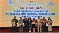 Trao giải báo chí về công tác giảm nghèo năm 2019: Báo Bắc Giang có tác phẩm đoạt giải C