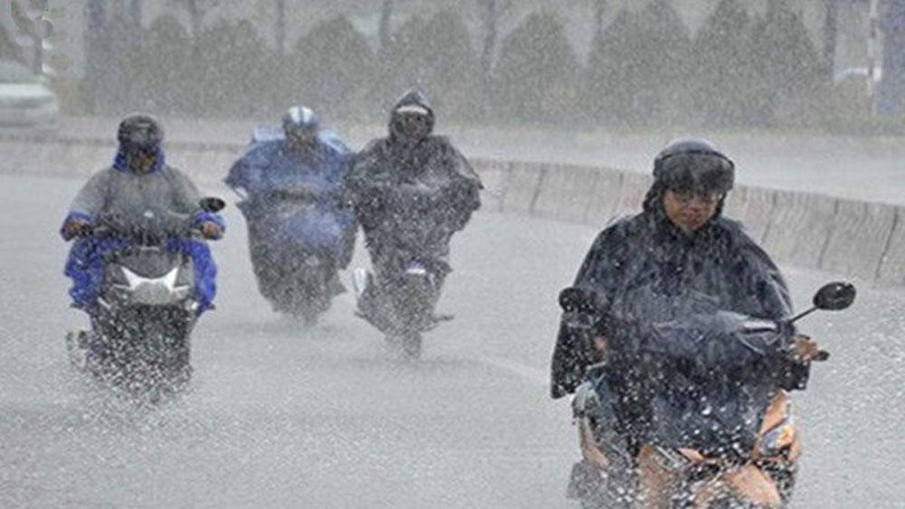 Thời tiết hôm nay, Không khí lạnh, gây mưa lớn, miền Trung