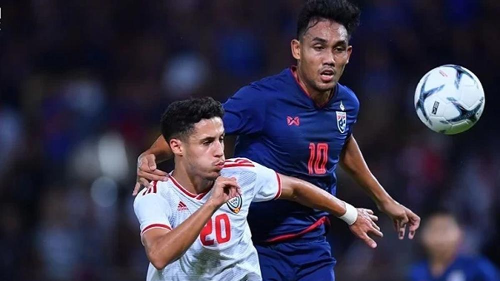 tuyển Thái Lan, tuyển UAE, vòng loại World Cup 2022