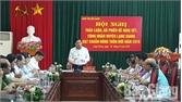 Thảo luận, đề nghị xét công nhận huyện Lạng Giang đạt chuẩn nông thôn mới