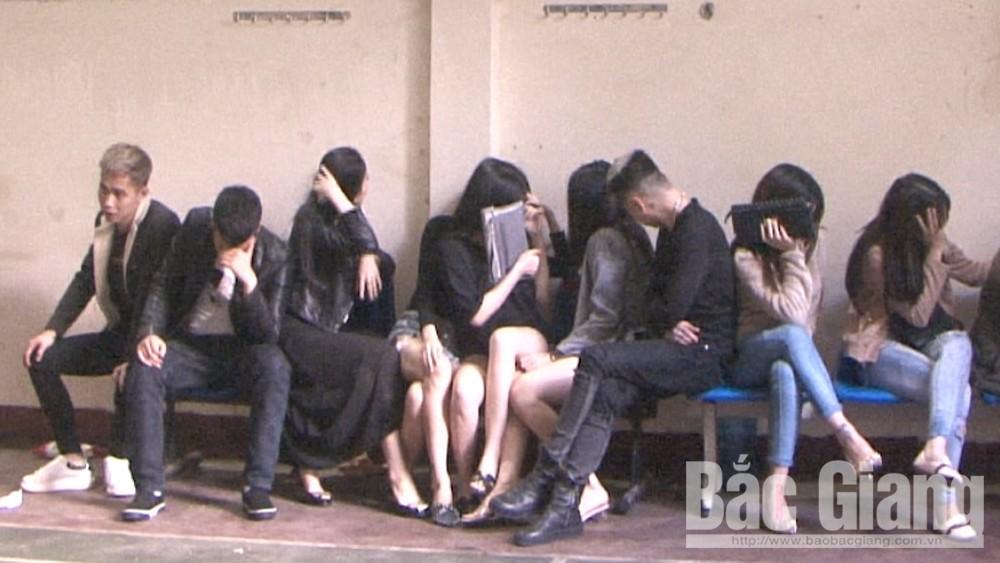 sử dụng ma túy, nhà nghỉ Titan, Bắc Giang