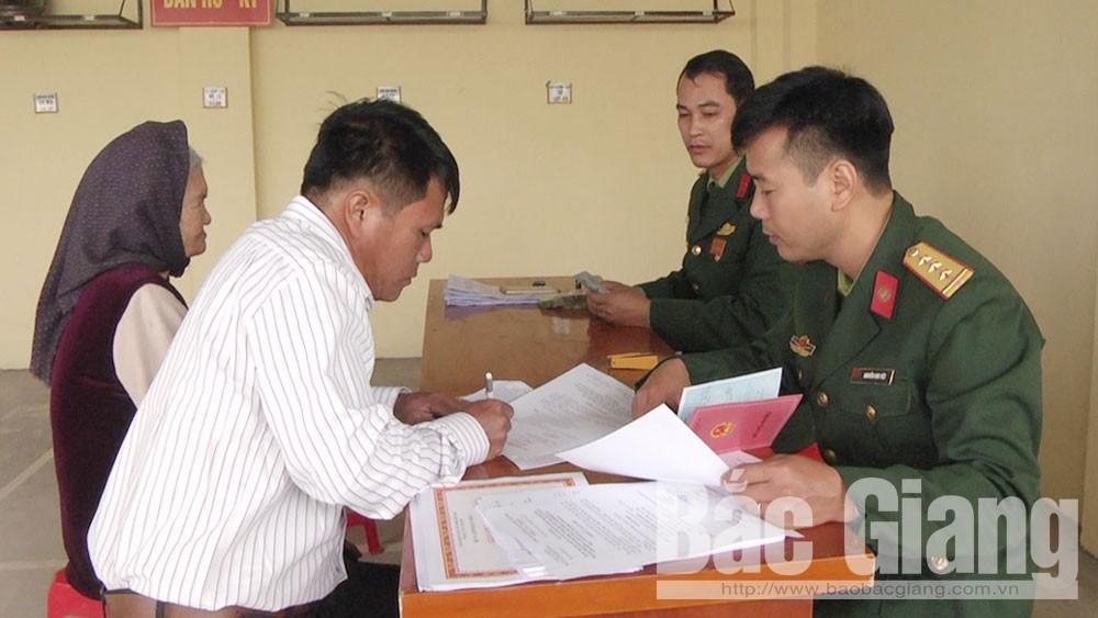 Bắc Giang, xét công nhận, cán bộ cách mạng, tiền khởi nghĩa