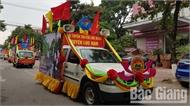 Các huyện: Yên Dũng, Lục Ngạn, Tân Yên và TP Bắc Giang đoạt giải Nhất Liên hoan Tuyên truyền lưu động