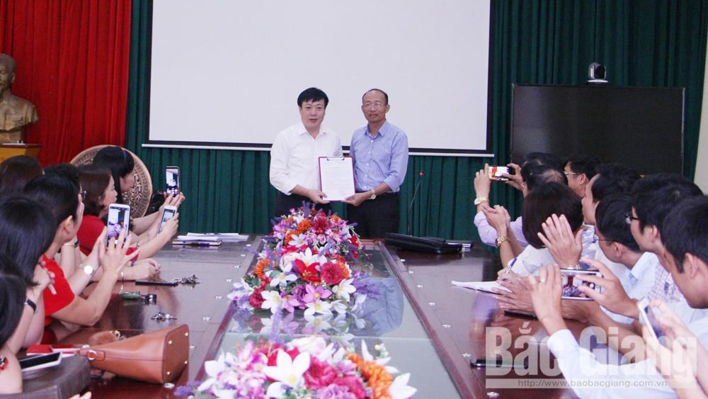 Sở Giáo dục và Đào tạo, Bắc Giang, bổ nhiệm, Trường THPT Chuyên Bắc Giang, giáo dục.