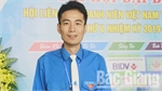 Chairman of Youth Federation in Hiep Hoa district Vu Chi Cong bestowed national award