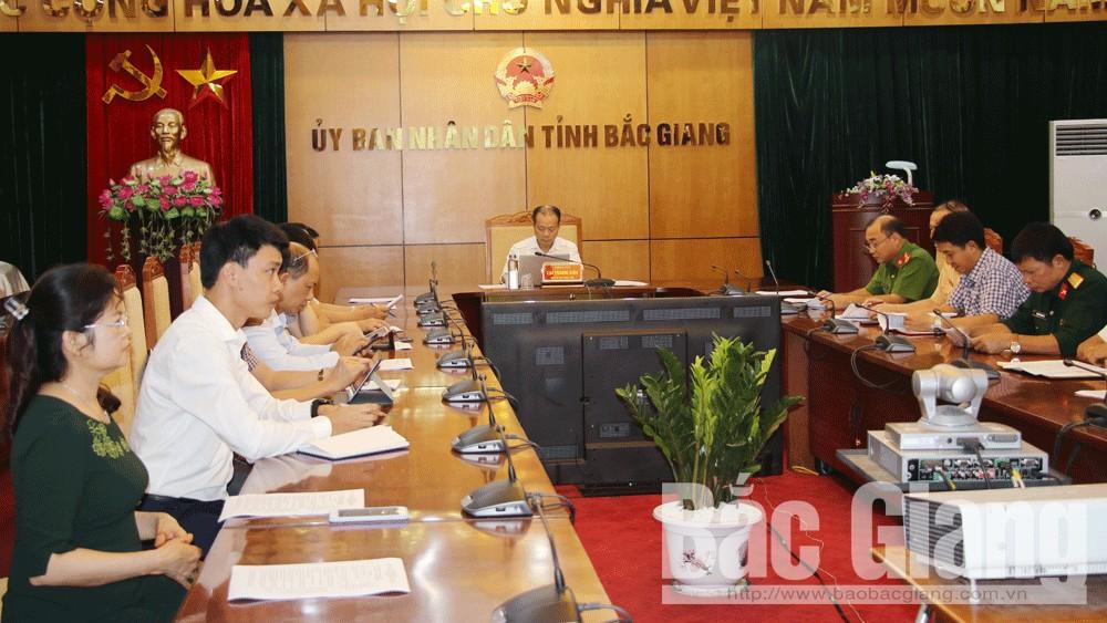 Quang cảnh hội nghị tại Bắc Giang.