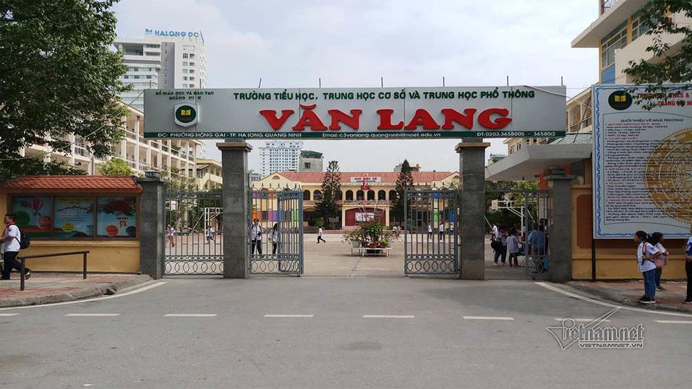 Sợ bị mắng, học sinh tiểu học, tự nghĩ ra, chuyện bị bắt cóc, Trường Tiểu học - THCS và THPT Văn Lang, Hoàng Thị Kim Khánh