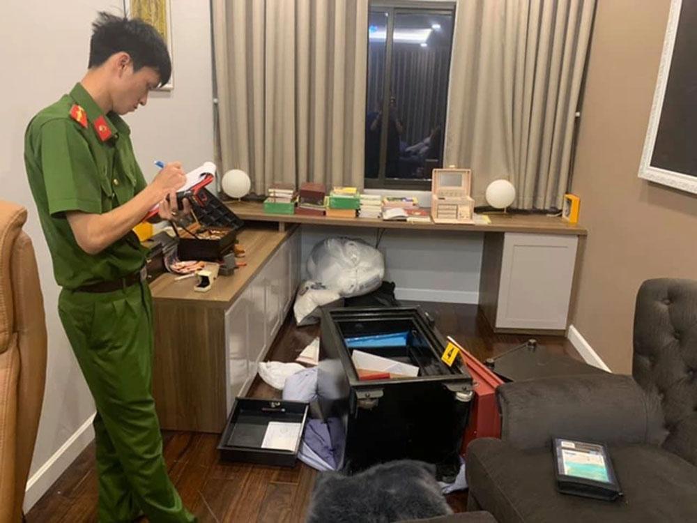 Bắt nghi phạm, đột nhập, nhà ca sĩ Nhật Kim Anh, lấy 5 tỷ đồng, Sơn xà beng