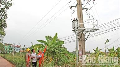 Bắc Giang đầu tư hạ tầng điện, đáp ứng nhu cầu phát triển
