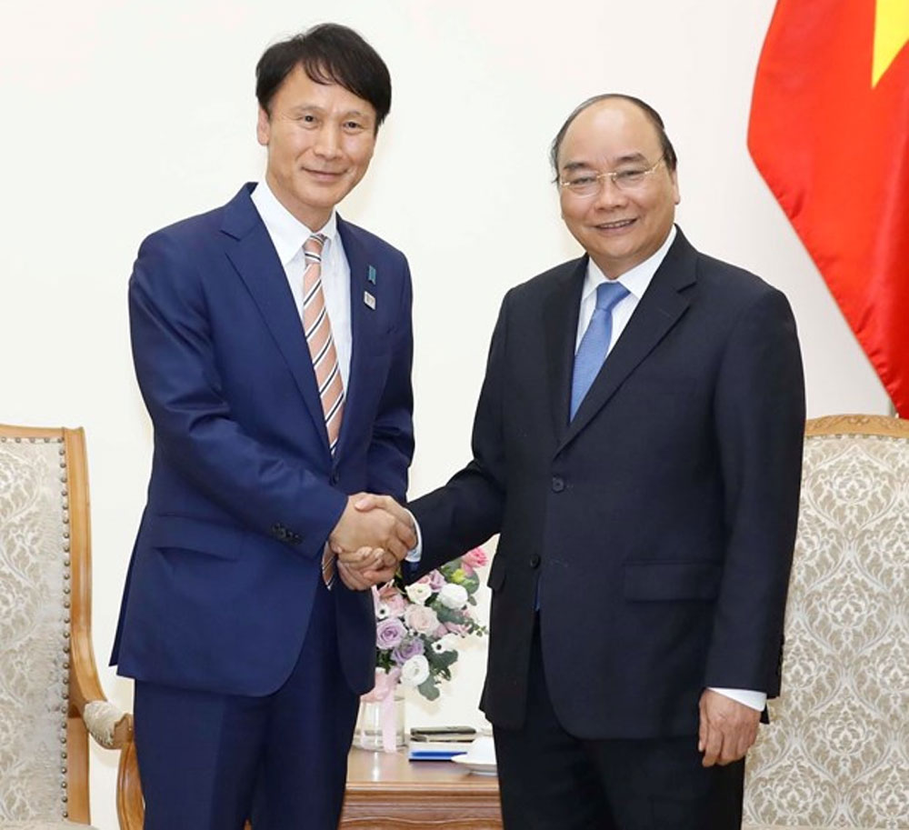 PM, Nguyen Xuan Phuc, Japan's Kagoshima prefecture, strategic partners, locality-to-locality cooperation, development and agricultural techniques