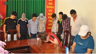 Công an đột kích sới bạc ở Ninh Kiều, bắt 43 đối tượng