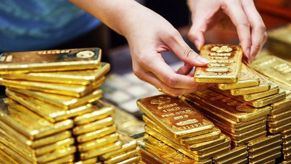 Giá vàng hôm nay 17-10, tín hiệu tiêu cực, vàng, đà tăng