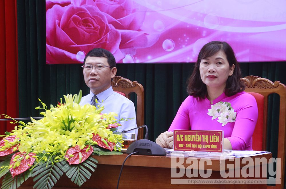 Bắc Giang, nữ cán bộ, lãnh đạo, công tác cán bộ nữ, Ban Vì sự tiến bộ của phụ nữ, Hội Liên hiệp Phụ nữ tỉnh