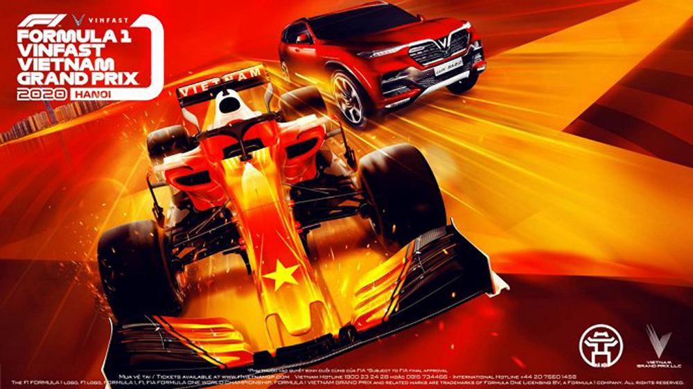 vinfast, F1, giải đua công thức, Formula One, thương hiệu toàn cầu
