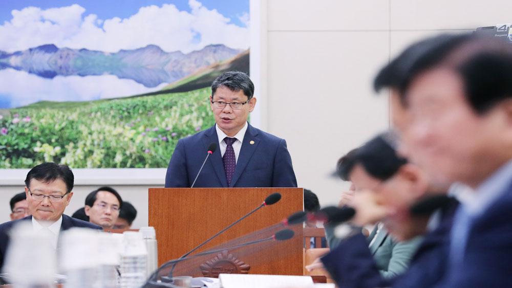 Hàn Quốc, tìm kiếm đối thoại liên Triều, thúc đẩy, quan hệ Mỹ-Triều