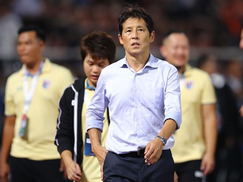 Nishino, HLV Nishino, Thái Lan, vòng loại World Cup 2022