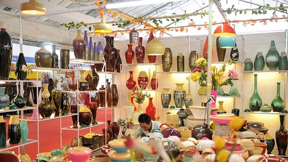 Hanoi Gift Show 2019, 650 pavilions, handicraft products, new and unique designs, domestic and international friend