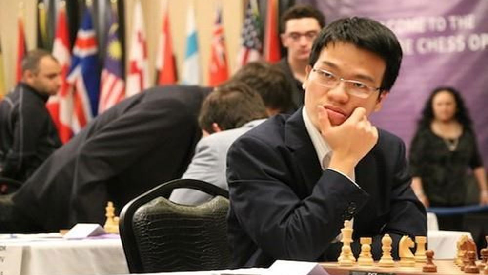 Vietnamese player, sixth match, FIDE Grand Swiss, Vietnamese top chess player, Le Quang Liem, chess tournament, world blitz champion