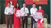 Phường Đa Mai tổ chức trao giấy chứng nhận kết hôn