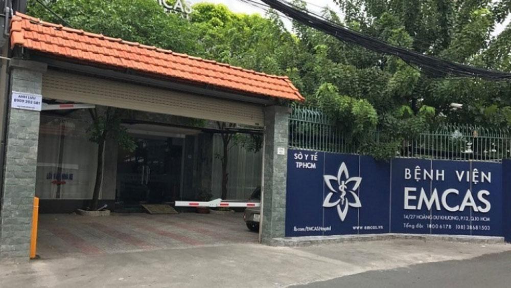Một phụ nữ tử vong, đặt túi ngực, thẩm mỹ viện TP Hồ Chí Minh, Bệnh viện thẩm mỹ EMCAS