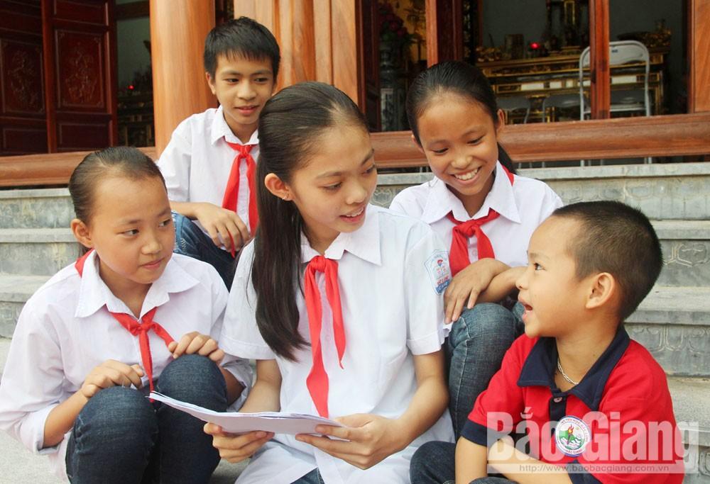 Bắc Giang, khuyến học, xã Bắc Lũng, Lục Nam, cộng đồng học tập, gia đình, dòng họ