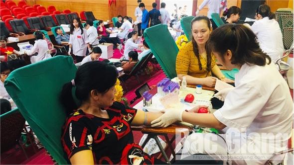 Hơn 1.200 người tham gia hiến máu tình nguyện