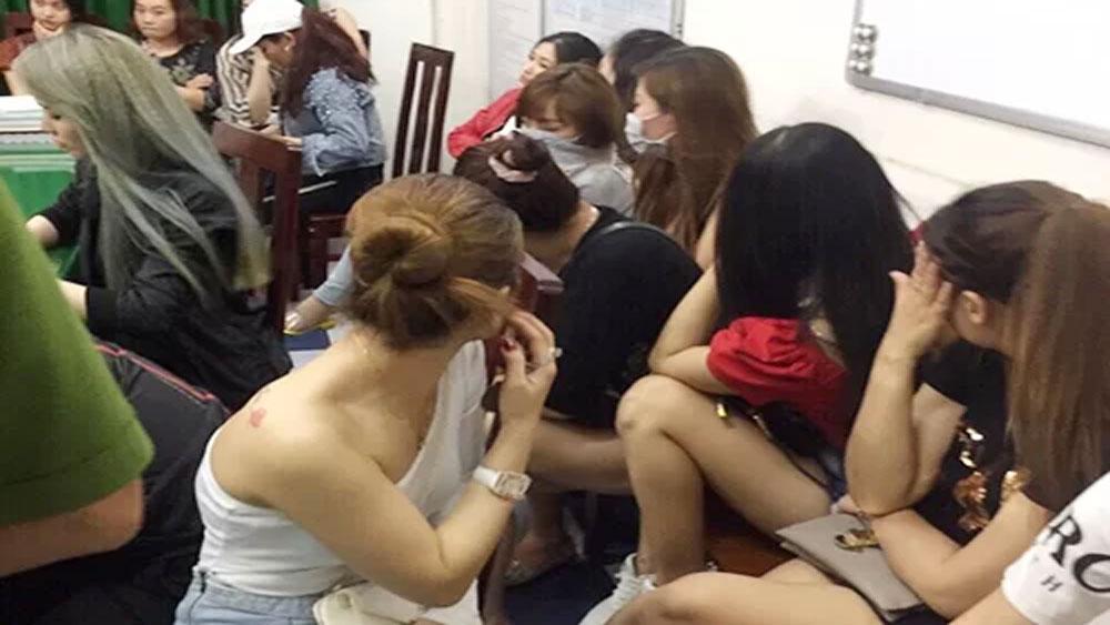 Cảnh sát, phong toả quán bar, bắt dân chơi ma tuý, bar Phương Lâm