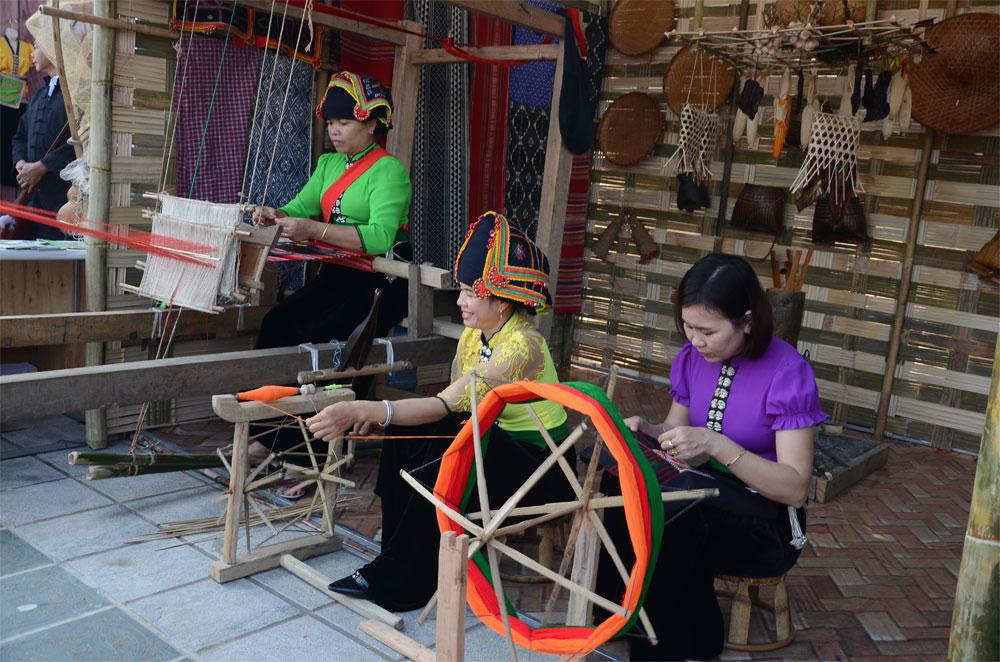 Second festival, Thai National Cultural Festival, Dien Bien province, cultural traditions, Vietnamese culture, local tourism products