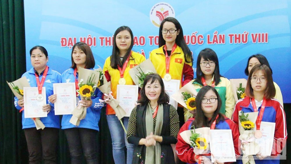Bac Giang sports: The imprints of female athletes