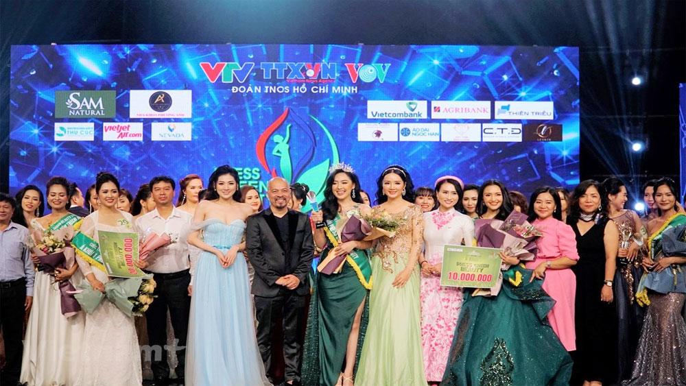 Đại diện VTV, đoạt danh hiệu, Hoa khôi Press Green Beauty 2019, Phạm Ngọc Hà My