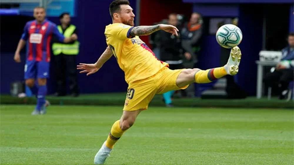 Barca đại thắng ở La Liga