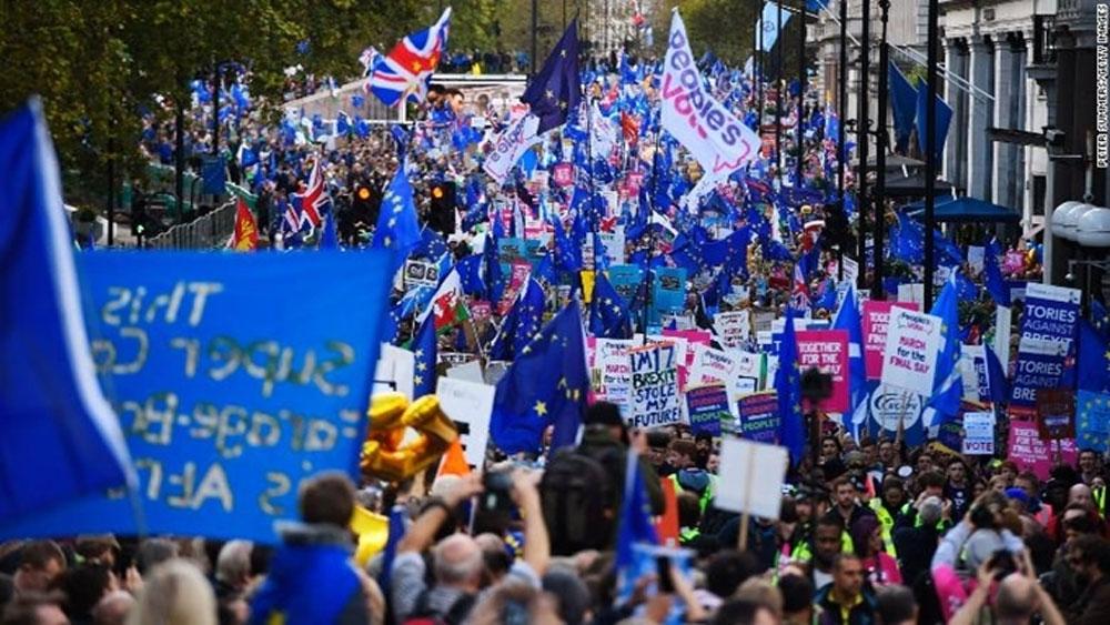 Thủ tướng Anh, gửi thư, đề nghị, EU gia hạn Brexit