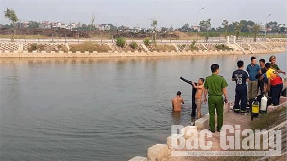 Một người tử vong do đuối nước tại hồ Củ Lạc (TP Bắc Giang)