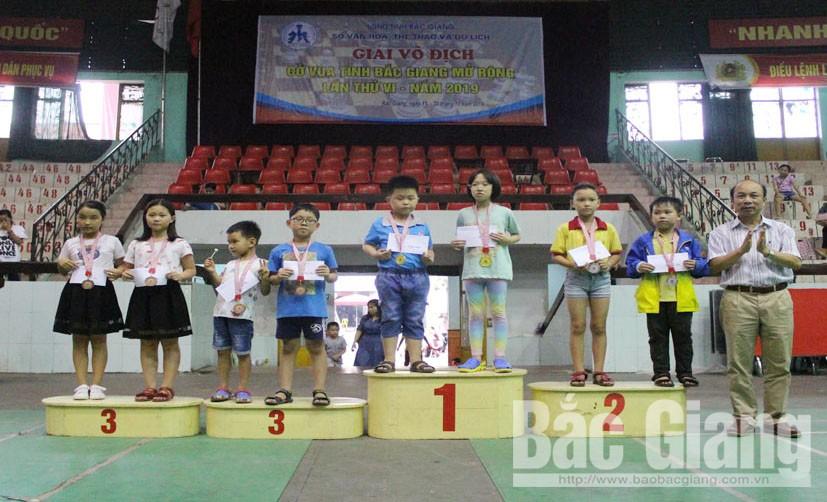 Vô địch cờ vua, Bắc Giang, mở rộng, 2019, 160 huy chương