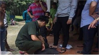 Vây bắt thanh niên nghi ngáo đá lẻn vào nhà sát hại một cụ già