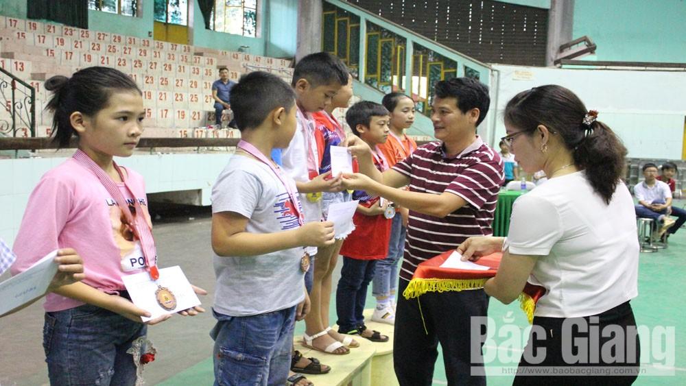Kết thúc giải Vô địch cờ vua tỉnh Bắc Giang mở rộng: Trao 160 huy chương cho các vận động viên