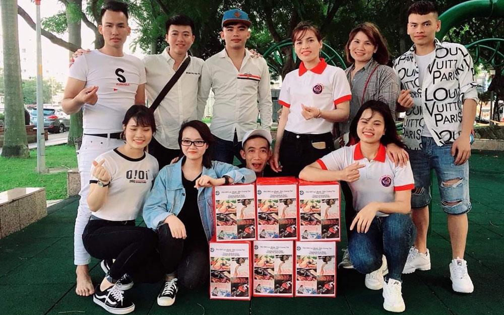 thiện nguyện, Hội đồng hương Lục Nam, Trường THPT Lục Nam, Công ty Vinasolar, tặng quà, Vì người nghèo