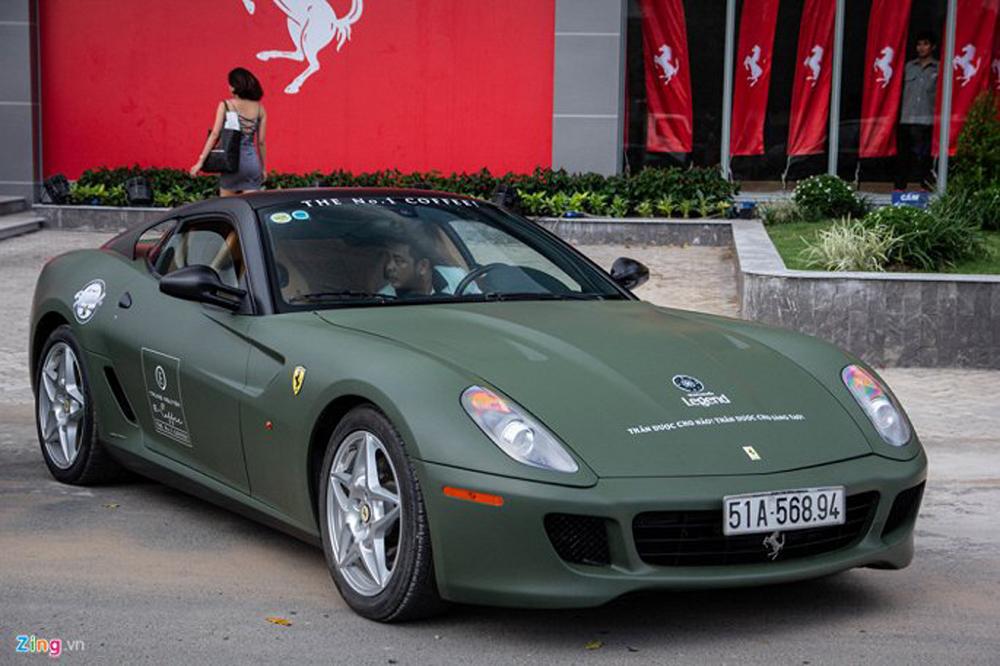 Chiêm ngưỡng xe Ferrari 599 GTB, Việt Nam, Đặng Lê Nguyên Vũ, Siêu xe
