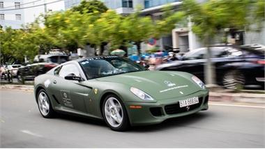 Chiêm ngưỡng xe Ferrari 599 GTB duy nhất Việt Nam của ông Đặng Lê Nguyên Vũ