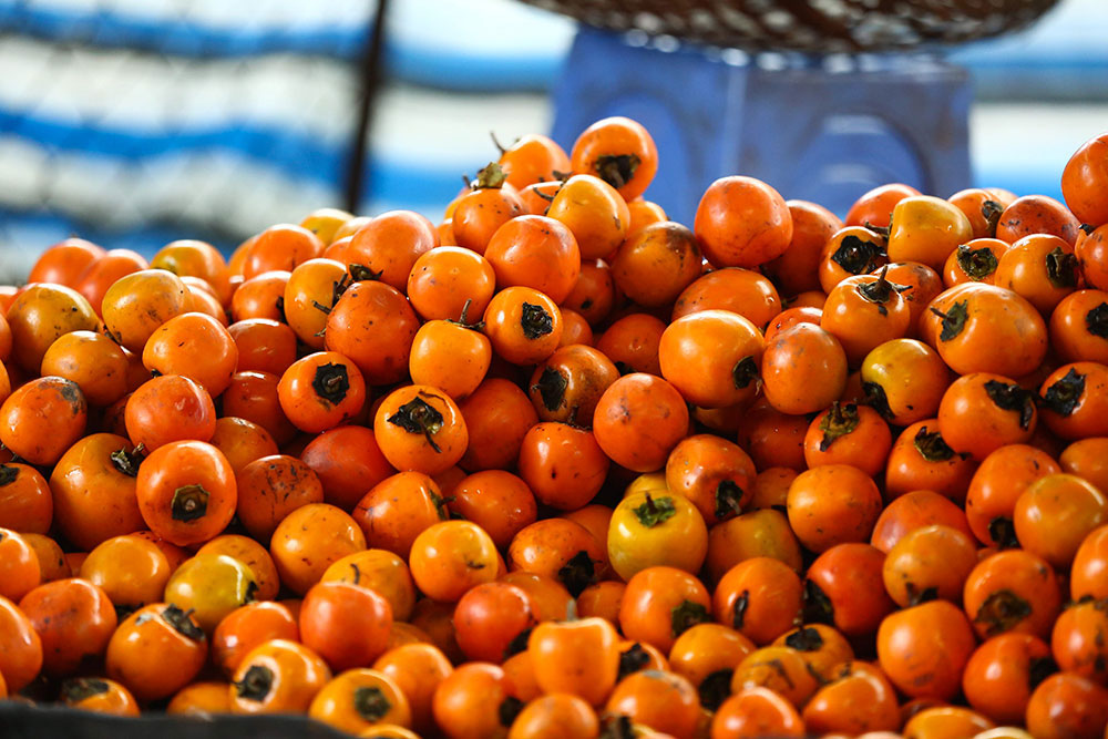 dried persimmons, Da Lat city, most delicious dried fruit, Lam Dong province, sophisticated techniques