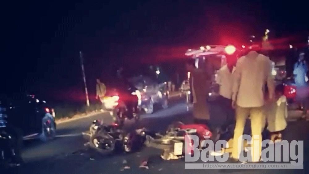 Tỉnh lộ 293, tai nạn giao thông, Yên Dũng, Bắc Giang, tai nạn, giao thông