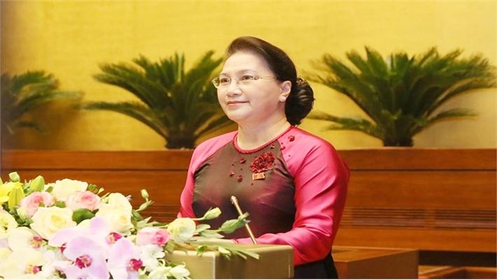 Chủ tịch Quốc hội Nguyễn Thị Kim Ngân: Kiên quyết bảo vệ chủ quyền lãnh thổ