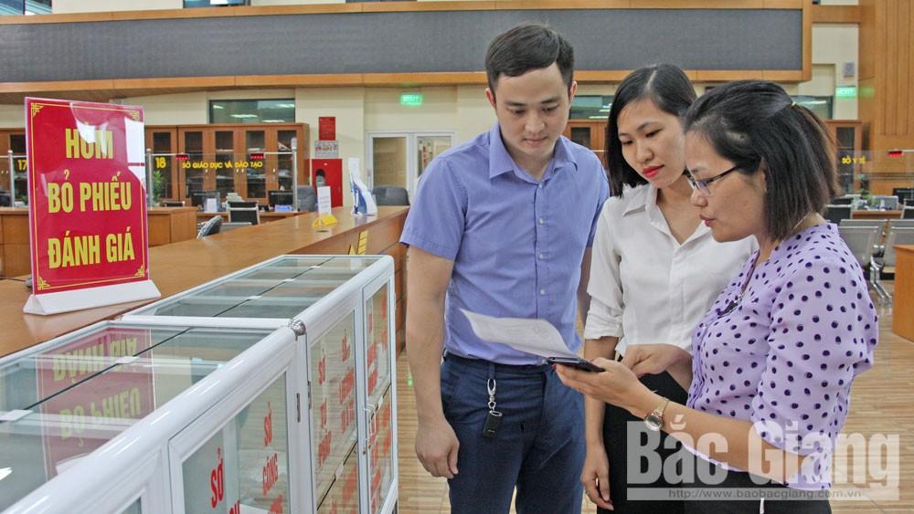 Bac Giang province, satisfaction survey, administrative procedures, Public Administrative Services, SIPAS