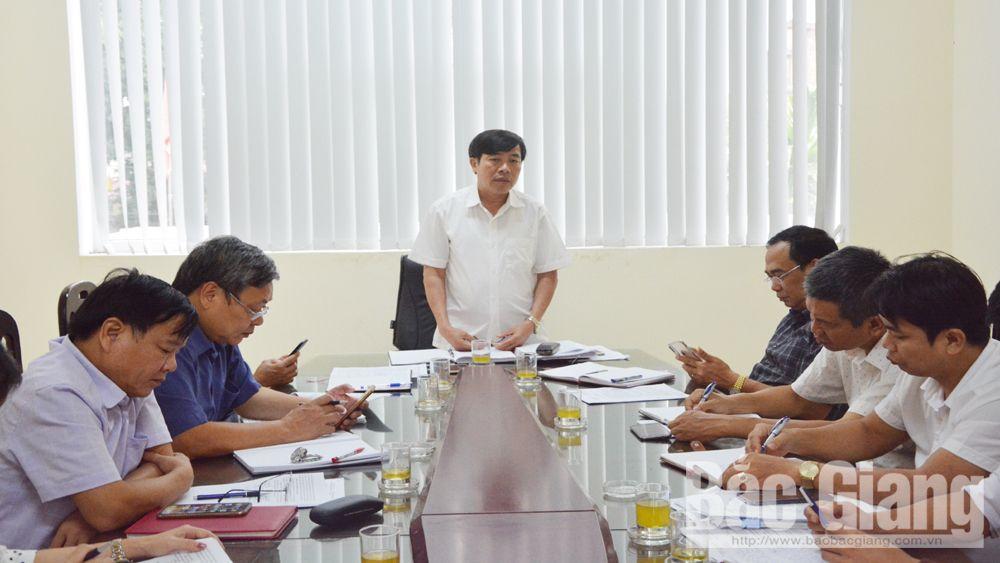 Phân cấp trách nhiệm, quảng cáo ngoài trời, giám sát, Bắc Giang