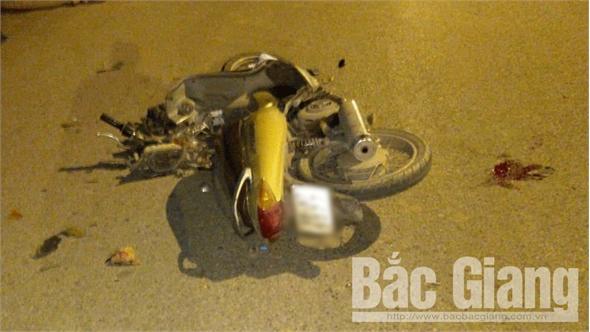 Một ngày xảy ra hai vụ va chạm giao thông ở TP Bắc Giang, 3 người bị thương