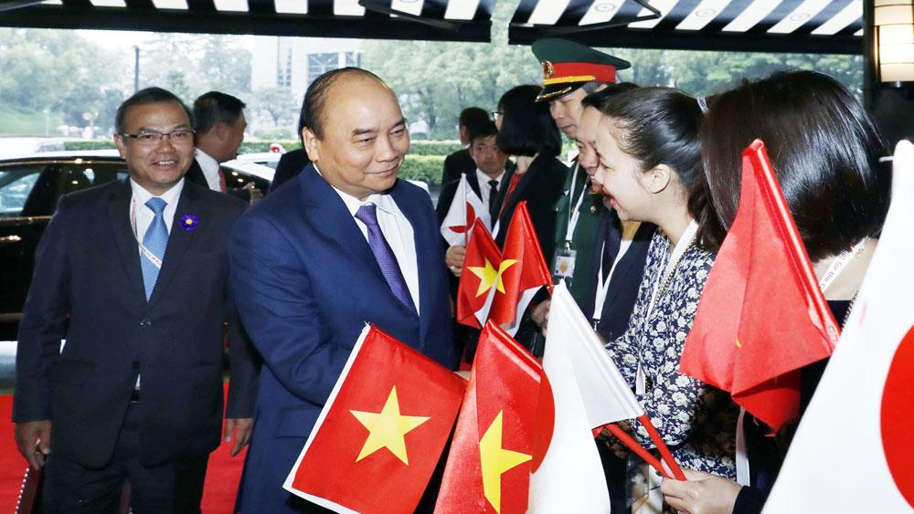Thủ tướng Nguyễn Xuân Phúc, lên đường, dự lễ đăng quang, Nhà Vua Nhật Bản